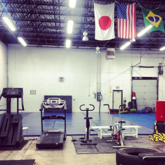 Fitness Equipment and Flags
